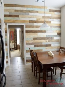 Accent Wall Ideas Lovely Multi Colored Pallet Wall Wonder if This Look Could Be