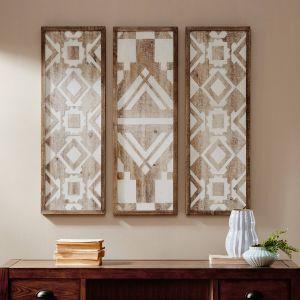 Affordable Wall Art Decor New Geometric Wood Wall Art