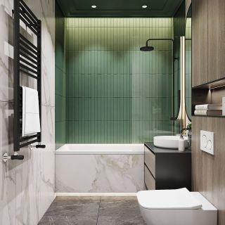 Apartment Bathroom Makeover Fresh Bathroom 4 6m2 On Behance