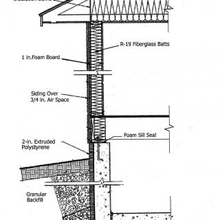 Architectural Roof Styles New Typical Wall Section School Drafting
