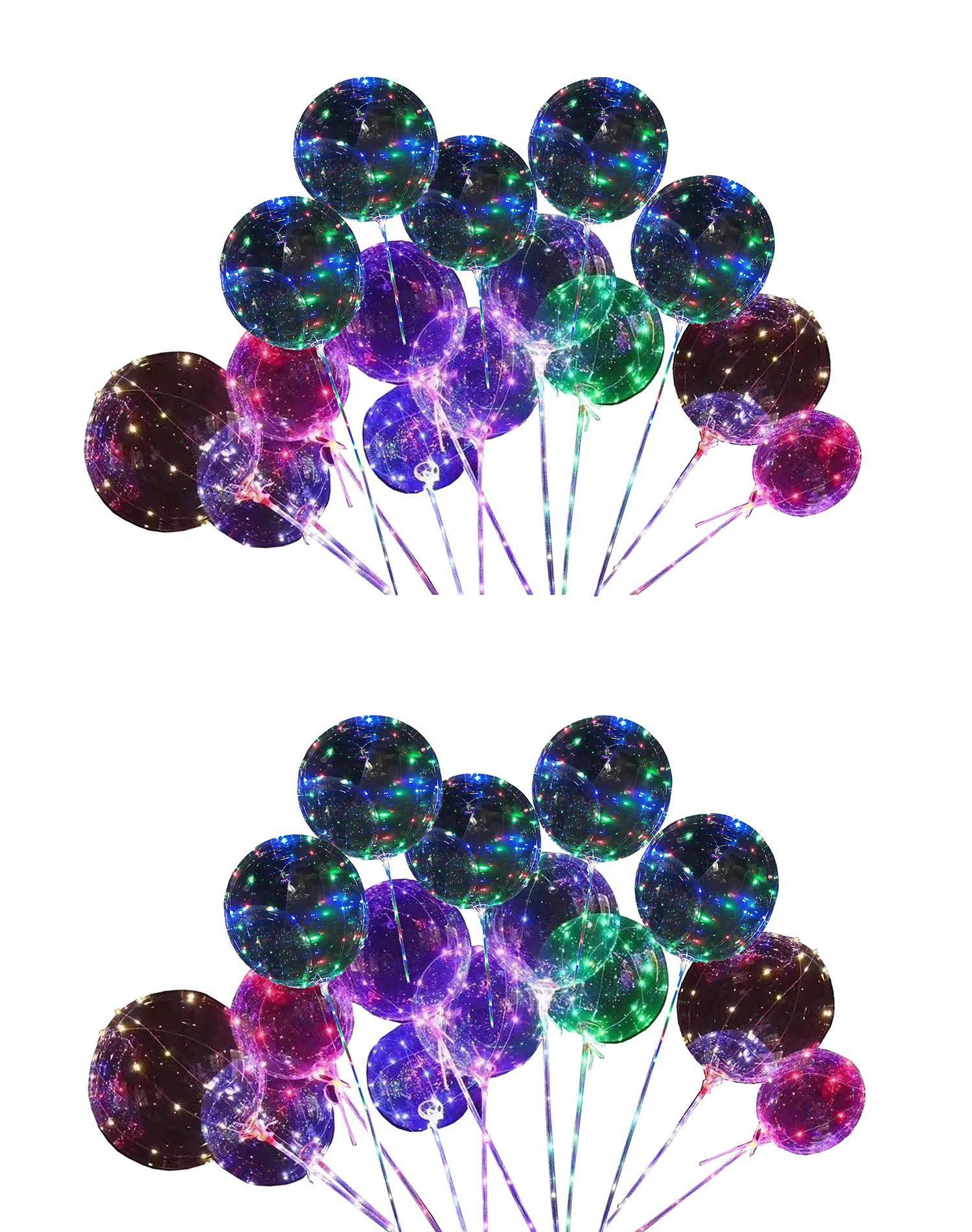 atorakushon Colourful LED Transparent Round SDL 1 827e8