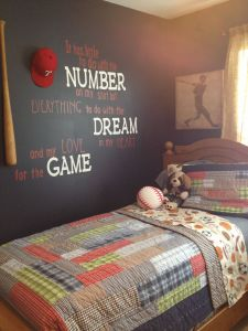 Baby Boy Wall Decor Fresh Baseball Room In 2019