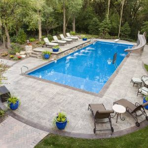 Backyard Pool Designs New Reasons for Pool Coping and Edging