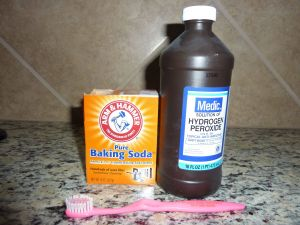 Baking soda and Vinegar to Clean Grout Inspirational Clean Grout I Just Tried This Peroxide Alone Worked