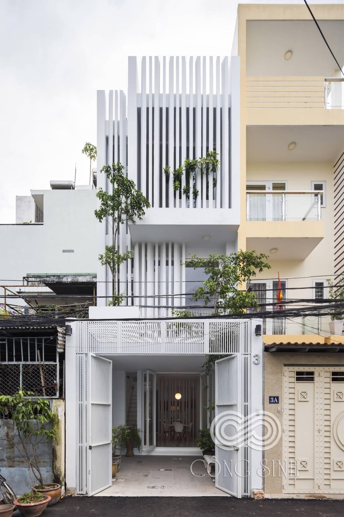 narrow lot house ideas