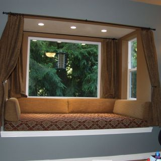 Bay Window with Bench Elegant Pin On Window Bench