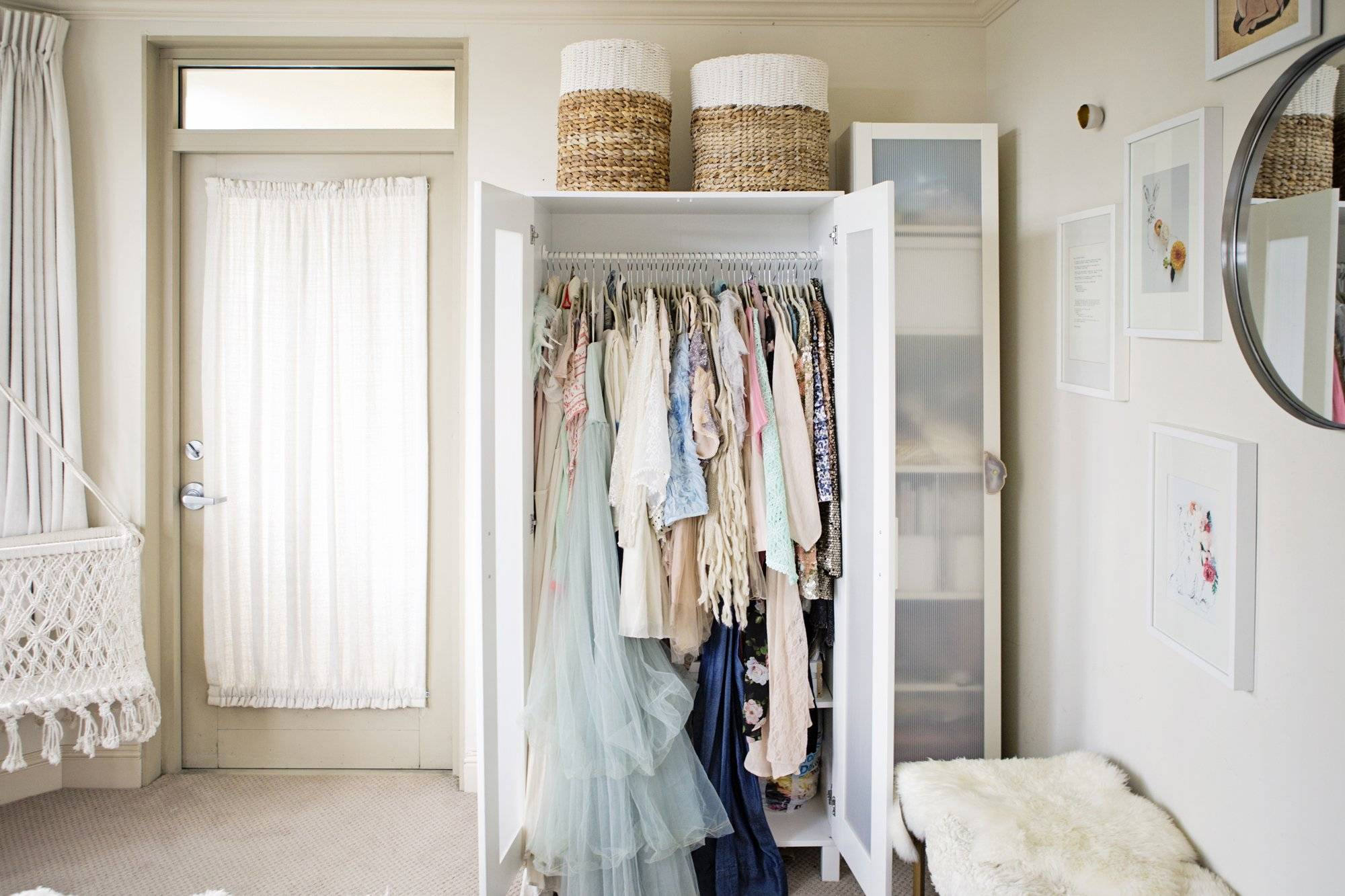decorating clothes closet bedroom astounding for bathrooms hanging ideas bedrooms without
