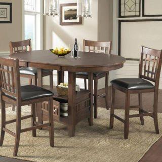Bistro Kitchen Furniture Luxury Lacks Max 5 Pc Counter Height Dining Set