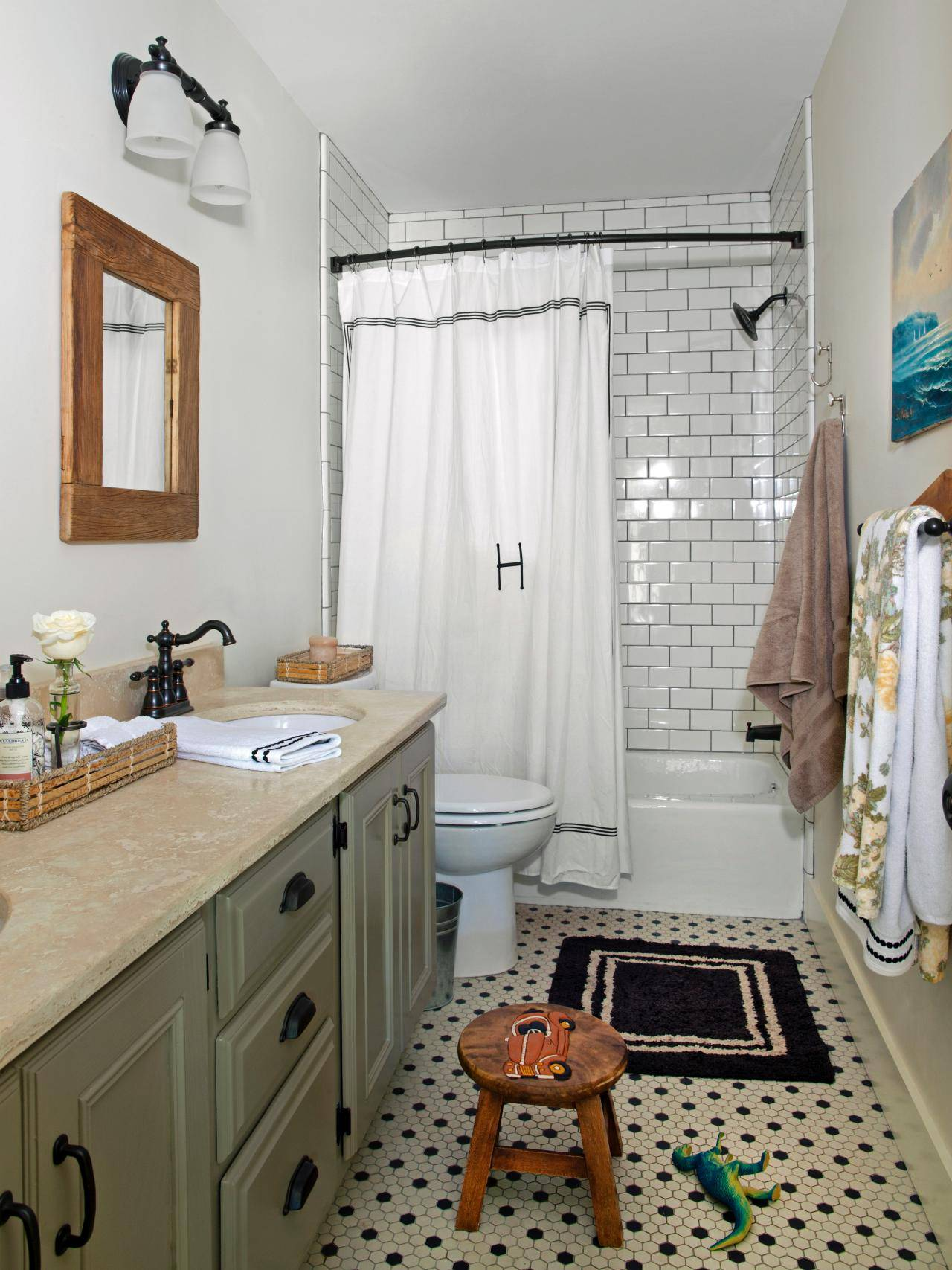 best house decorating ideas with extra subway tile walls dark floor bathrooms measured contemporary black