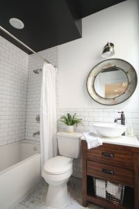 Black and White Tile Bathroom Decorating Ideas Inspirational 10 Ways to Use Subway Tile that aren T Boring Af