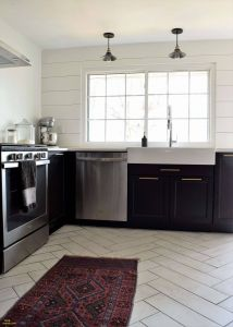 Black Painted Floors Fresh 16 Fabulous Dark Hardwood Floors with Light Cabinets