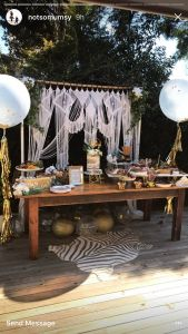Bohemian Interior Design New Grazing Table Bohemian Style Baby Shower Confetti Filled