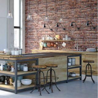 Brick Designs Best Of Industrial Kitchen Design with An Amazing Red Brick Veneer