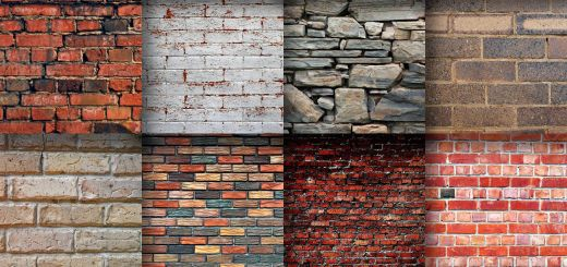 Brick Wall Design Unique Brick Wall Textures Digital Paper In 2019