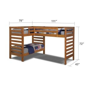 Bunk Bed Plans with Stairs Best Of Drew Iii Kids Furniture Twin L Shaped Loft Bed