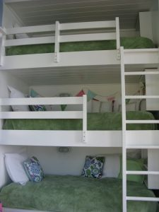 Bunk Bed Plans with Stairs Unique Triple Built In Bunk Beds Each Has Its Own Book Shelf Wood