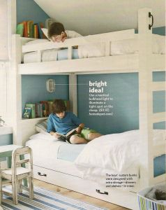 Bunk Beds for Small Rooms Elegant Bunk Beds Good Idea for Individual Lighting Shelf for
