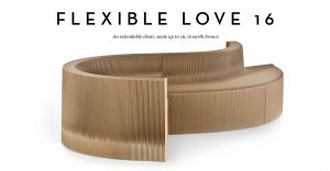 Cardboard Design Ideas Awesome Flexilove Foldout Cardboard Flexible sofa