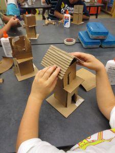 Cardboard Design Ideas Unique Fourth Grade Artists are Continuing their Architecture Unit