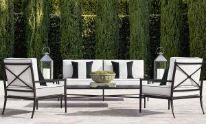 Cast Iron Garden Decor Elegant Restoration Hardware Creates A French Inspired Garden