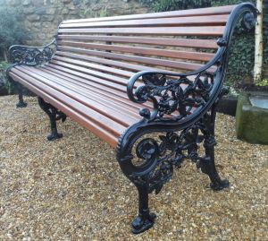 Cast Iron Garden Decor Fresh Rare Mickelthwaite Victorian Bench Seven Foot Long In 2019