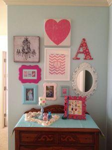 Chevron Room Ideas Elegant Girls Room Gallery Wall Gallery Wall Ideas In 2019