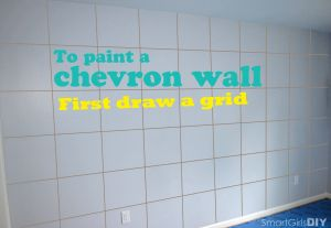 Chevron Room Ideas Fresh to Paint A Chevron Wall First Draw A Grid In 2019
