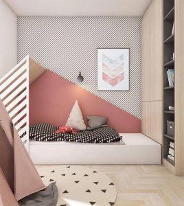 Chevron Room Ideas New Pink Grey Biege Poster Art Geometric Chevron Art Rustic