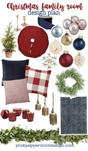 Christmas Decorating Ideas Awesome Family Room Christmas Decorating Ideas