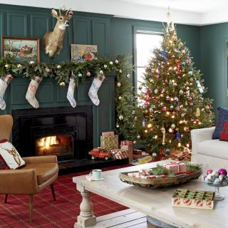 Christmas Decorating Ideas Living Room Unique 20 Christmas Living Room Decorating Ideas How to Decorate