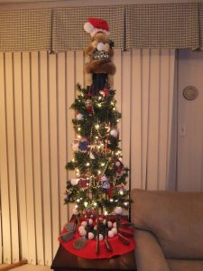 Christmas Decorations Cheap Outdoor Beautiful Christmas Tree Made From Golf Clubs