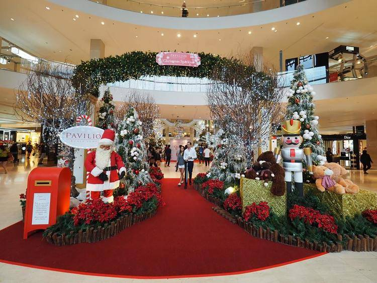 KL Shopping Mall Christmas Decorations 2015