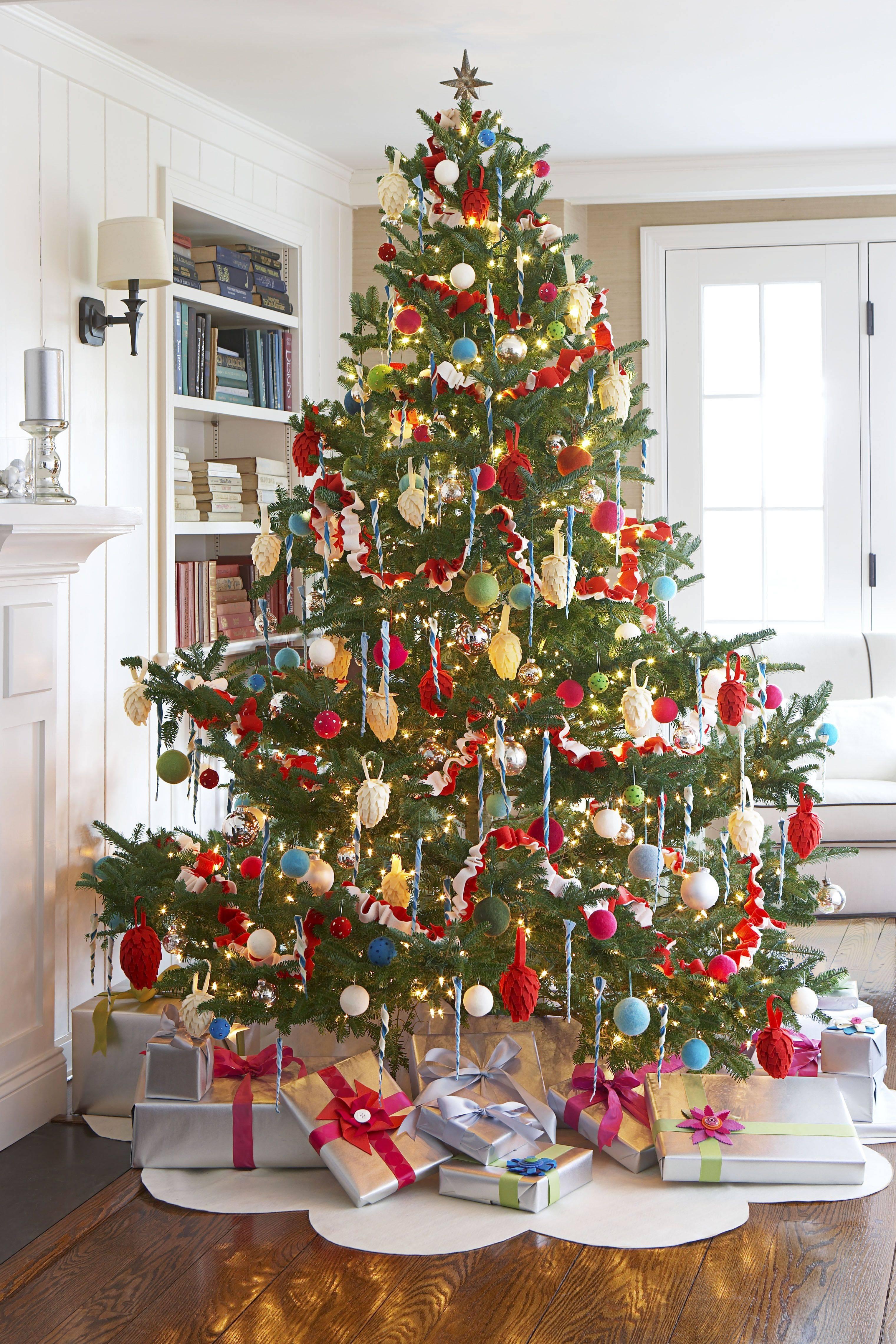 felt christmas tree skirt