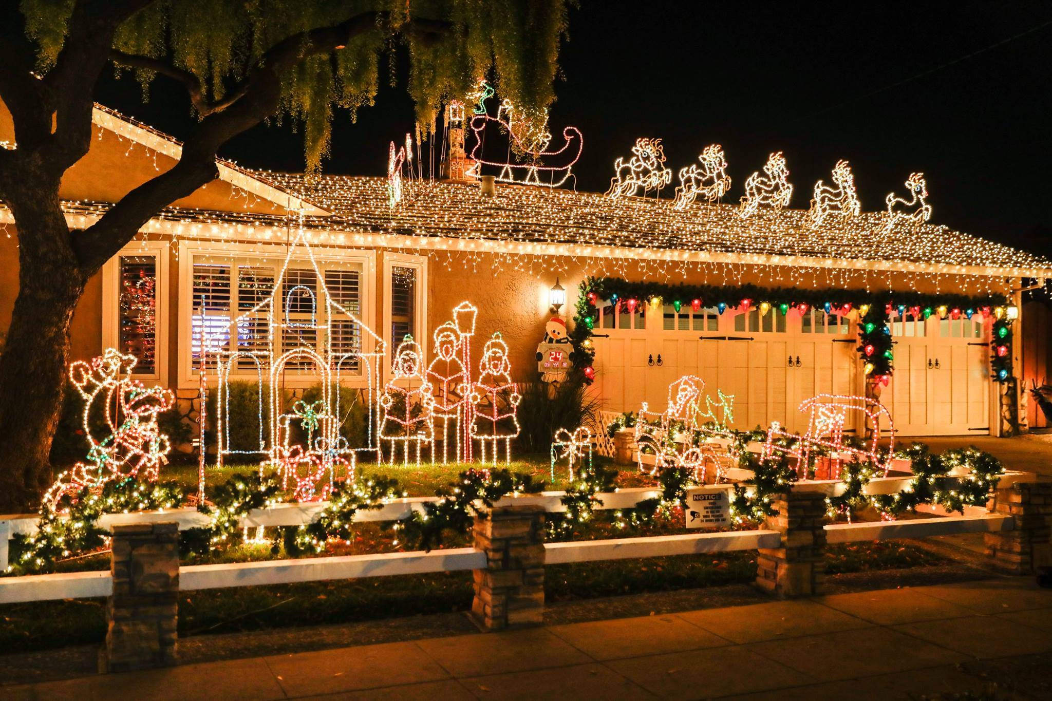 willow glen christmas house