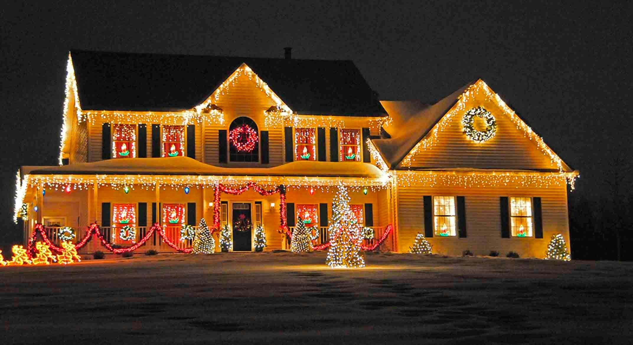 decorations xmas tree decorations ideas neighbor still has her christmas decorations on house lights outdoor christmas house decorating ideas magnificent christmas house decorations