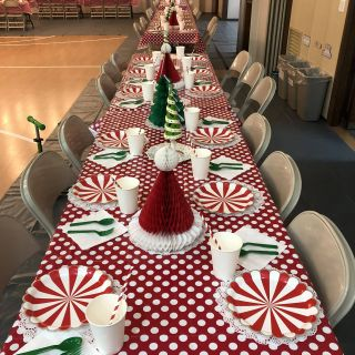 Christmas Party Ideas for Families Elegant Church Christmas Party Table Deco It S so Much Fun