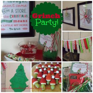Christmas Party Ideas for Families Unique Great Grinch Party This is Such A Fantastic theme that Makes