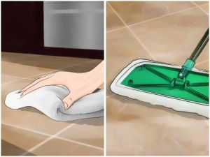 Clean Moldy Grout Lovely 4 Ways to Clean Grout Between Floor Tiles Wikihow