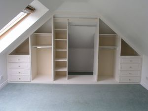 Closets with Sloped Ceilings Beautiful Angled Ceilings Don T Have to Restrict Storage Space