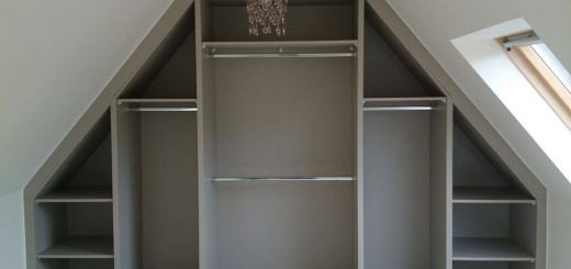 Closets with Sloped Ceilings Inspirational Sloping Ceiling Wardrobe Angled Made to Measure Rigid