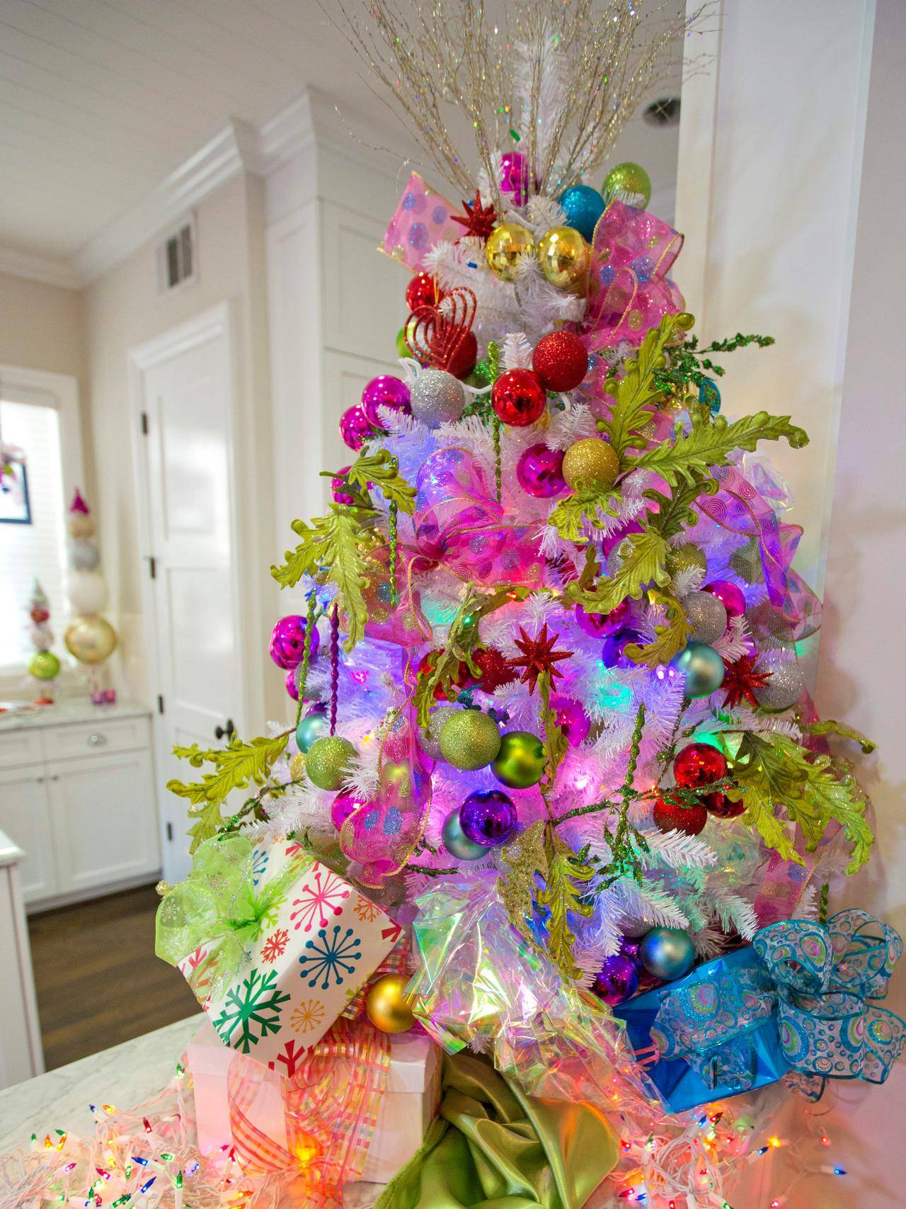 2016 Christmas Tree Decorating Ideas 1