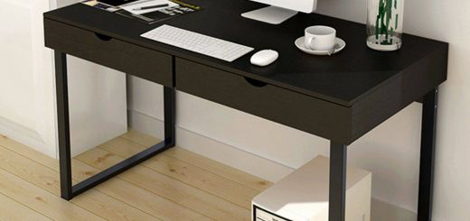 Computer Desk Ideas Fresh Black Puter Desk Study Table Pc Laptop Workstation Home