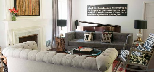 Conversation Room Ideas Luxury Gray Living Room with A Two sofa Layout Two sofas Facing