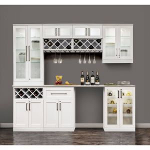 Cool Home Bars Fresh Newage Products 72 Inch Wide X 25 Inch Deep White Shaker
