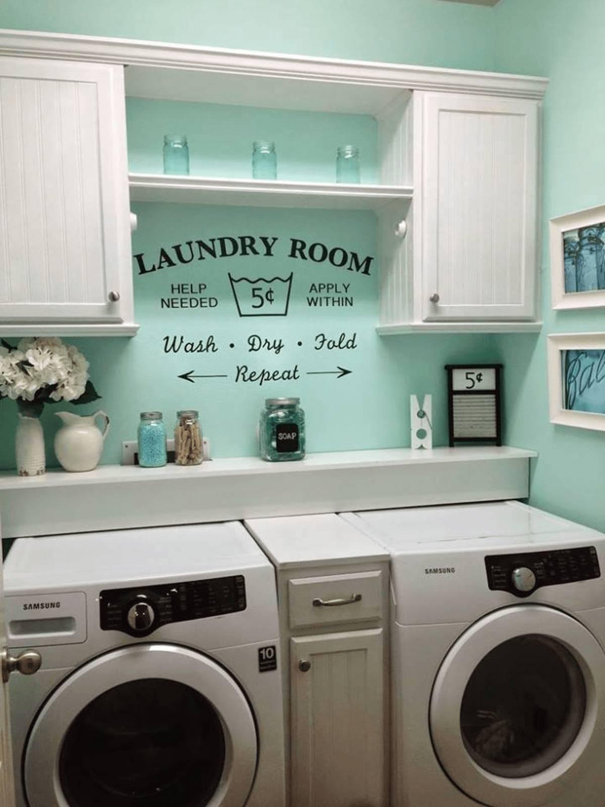 01 small laundry room design ideas homebnc