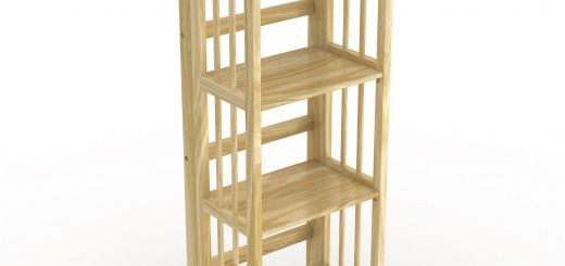 Cool Storage Shelves Lovely No assembly Folding Four Shelf Bookcase 16 Inches Wide