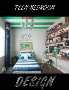 Cool Teenage Rooms Elegant Check Out This Cool Teenage Bedroom Design Featuring A