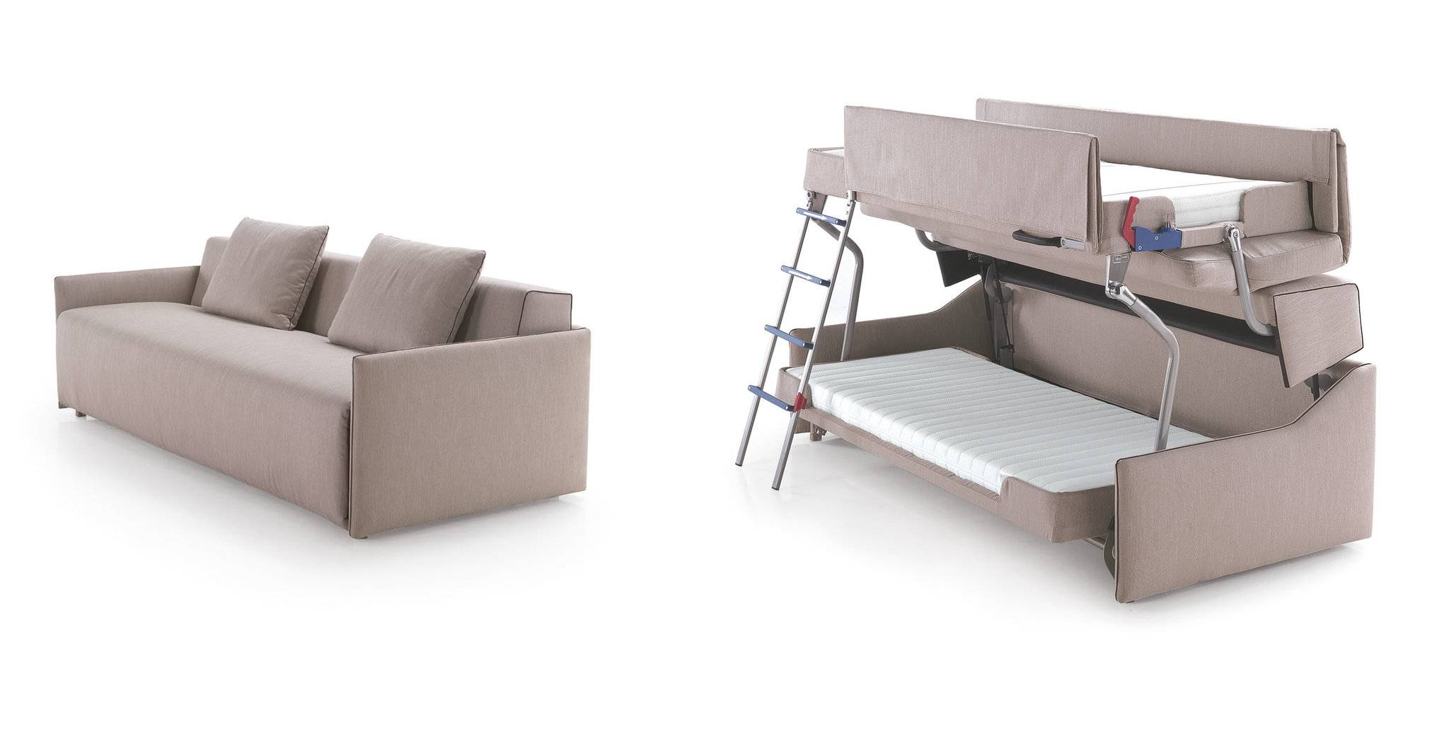 Bunk Beds With Couch Futon Sofa