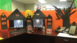 Creative Cubicle Lovely Nightmares before Christmas Fice Decorations …