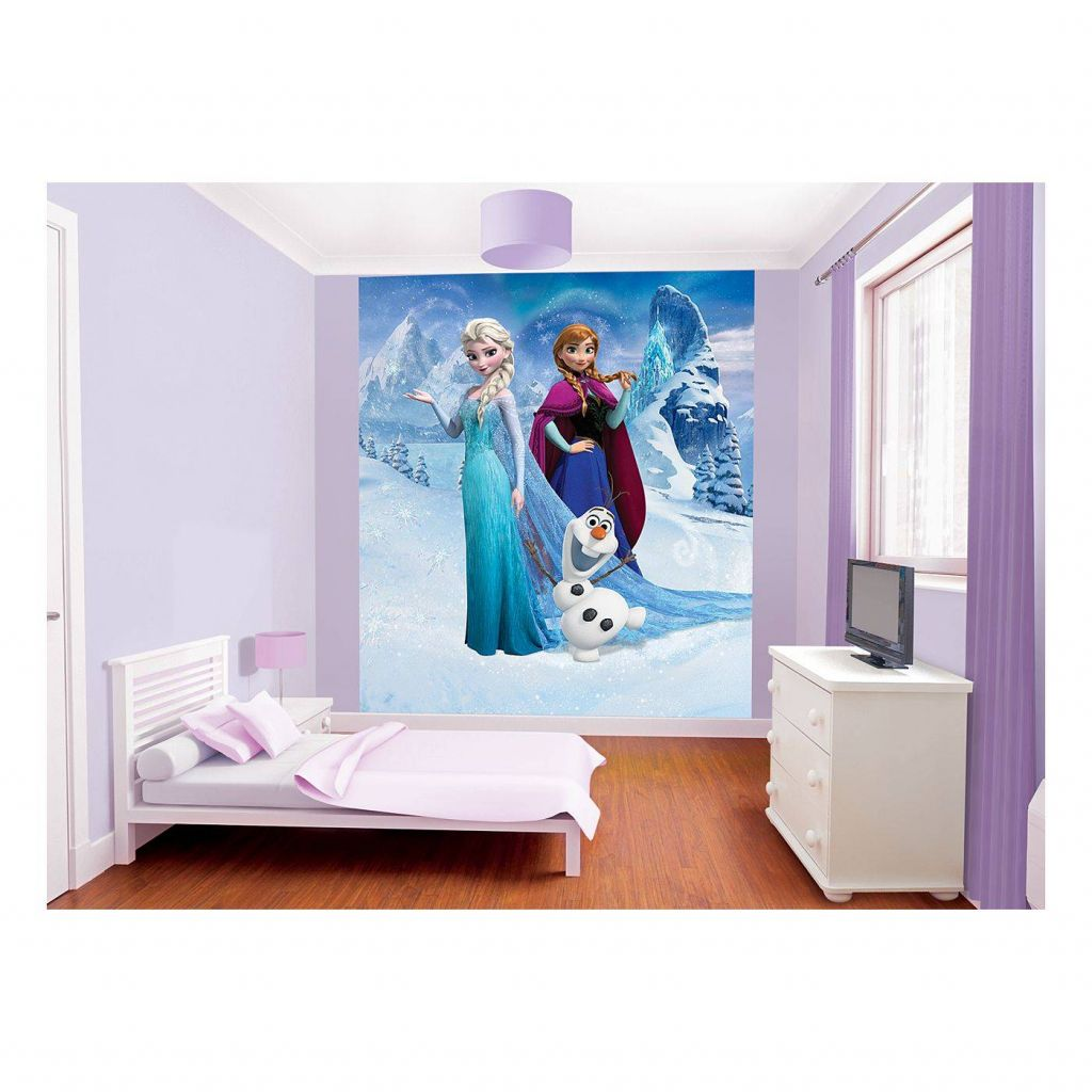 Custom 3d Elsa Frozen Cartoon Wallpaper for Walls Kids ...